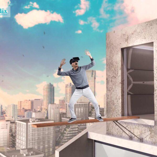 Virtual reality and acrophobia