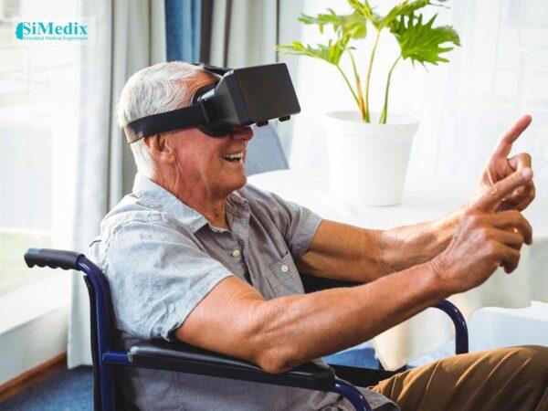 Virtual reality enhances elders